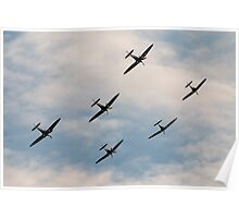 Spitfire Anniversary Poster