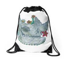 INTL- Rhinoceros  Drawstring Bag