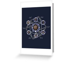 Remedial Chaos Theory Timeline Design Greeting Card