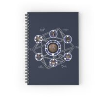 Remedial Chaos Theory Timeline Design Spiral Notebook