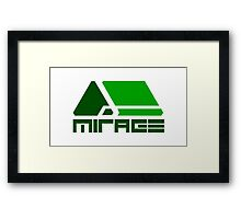 Wipeout HD/Fury - Mirage Framed Print