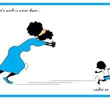 """""""Brother's cookie on the run!"""" by Nia Brown"""