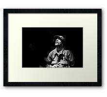 Righteous, Inspiration Framed Print