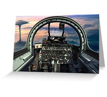 Me262 Maiden Flight Greeting Card