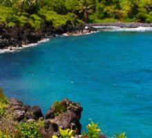 Waianapanapa Beach in Maui, HAWAII Sticker