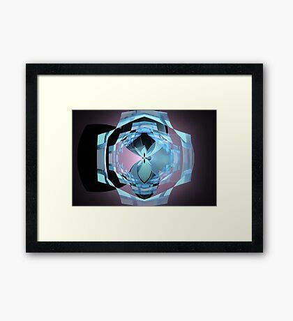 Glass Reflections Framed Print