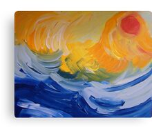 And the Sea Knows Canvas Print