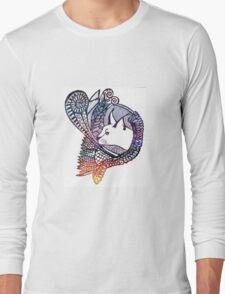 Caracal colour  Long Sleeve T-Shirt