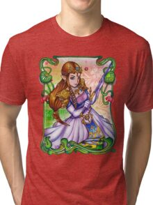 Zelda from The Legend of Zelda Tri-blend T-Shirt