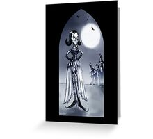 MADAME - GOTHIC, HALLOWEEN Greeting Card