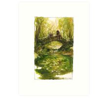 Shire bridge Art Print