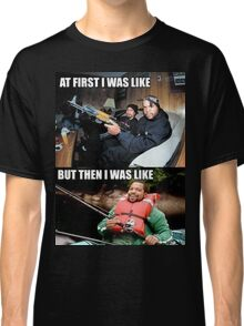 ICE CUBE THEN AND NOW Classic T-Shirt