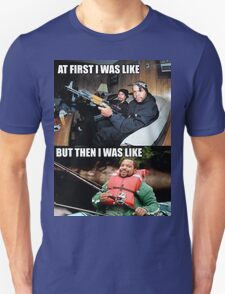 ICE CUBE THEN AND NOW Unisex T-Shirt