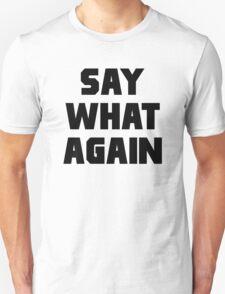 Pulp Fiction Say What Again T-Shirt