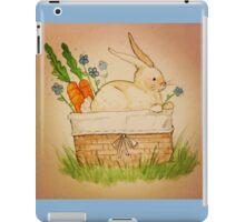 Spring Bunny Basket iPad Case/Skin