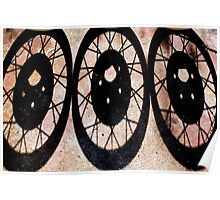 Three wheeler Poster