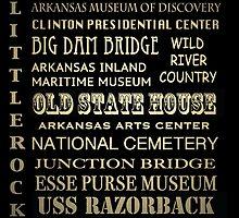 Little Rock Arkansas Famous Landmarks by Patricia Lintner