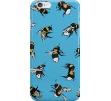 Garden Bumblebees iPhone Case/Skin