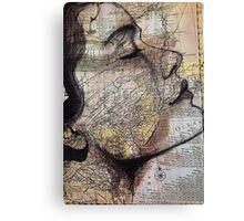 im on the map Canvas Print