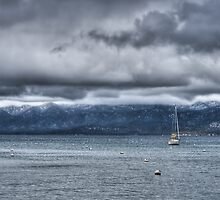 Storm Over The Lake by Diego  Re