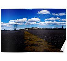 Winding Road - South Dakota. Poster