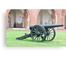 Tybee Cannon Metal Print