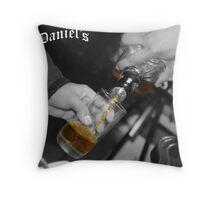Jack Daniels Throw Pillow