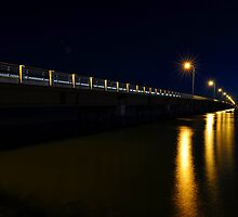 Bribie Island Bridge. Queensland, Australia. (3) by Ralph de Zilva
