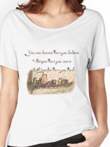 """You Are Braver Than You Believe"" (version 1) Women's Relaxed Fit T-Shirt"