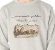 """You Are Braver Than You Believe"" (version 1) Pullover"