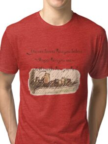 """""""You Are Braver Than You Believe"""" (version 1) Tri-blend T-Shirt"""