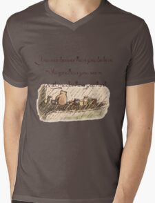 """""""You Are Braver Than You Believe"""" (version 1) Mens V-Neck T-Shirt"""