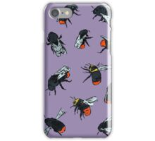 Red-Tailed Bumblebees iPhone Case/Skin