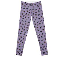 Red-Tailed Bumblebees Leggings