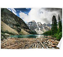Famous Moraine Lake Poster