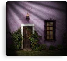 The Door..... Canvas Print