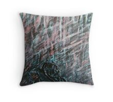 A Hard Rain's Agonna Fall Throw Pillow