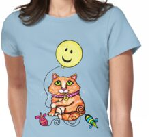 Cat Lover's Cute Tabby  T-Shirt Womens Fitted T-Shirt