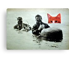 chat with us Canvas Print