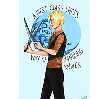 One Piece- A First Class Chef Photographic Print