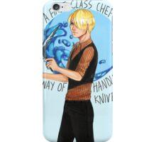 One Piece- A First Class Chef iPhone Case/Skin