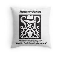 Skulduggery pleasant Throw Pillow