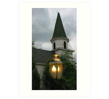 Spooky Church - Door County Art Print