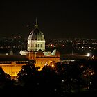 Exhibition Building by Night by TeaCee