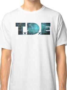 TDE TOP DAWG TEAL OCEAN BLUE  NEBULA Classic T-Shirt