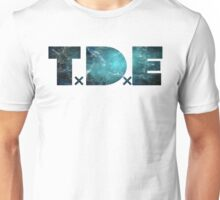 TDE TOP DAWG TEAL OCEAN BLUE  NEBULA Unisex T-Shirt