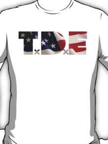 TDE TOP DAWG RED WHITE BLUE AMERICA FOURTH OF JULY 4TH T-Shirt