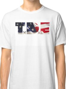 TDE TOP DAWG RED WHITE BLUE AMERICA FOURTH OF JULY 4TH Classic T-Shirt