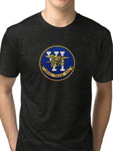US Navy Seal Team Six Tri-blend T-Shirt