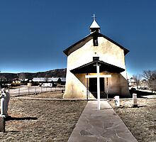 Chuch, San Jose, NM by Sarah Brooker